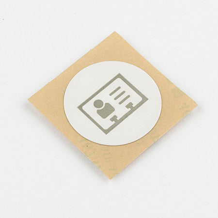 NFC Business Card Sticker with vCard Icon and NTAG216