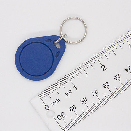 NFC Keyfob - ABS Plastic with Metal Ring and Many Colors - NTAG203