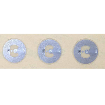Clear PET Sticker - NTAG213 - 25mm