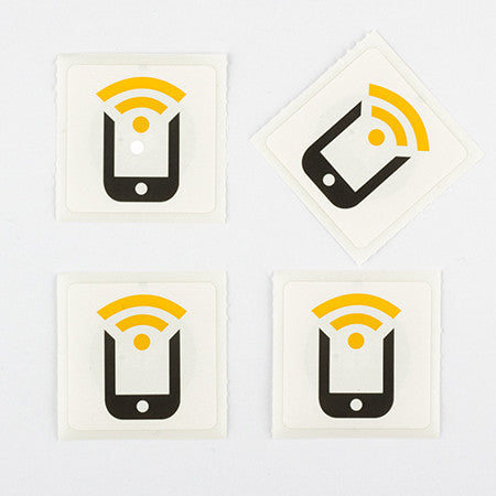 Basic NFC Starter Pack - (4 Stickers) - NFC Starter Pack