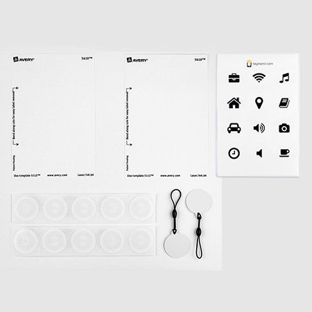 Tagstand + Avery NFC Customization Design Pack