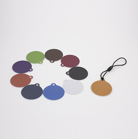 NTAG215 Keychain Multi-Pack - 10 keyfobs in various colors