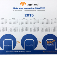NFC enabled mousepad