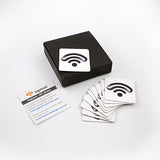 NTAG216 NFC Sticker 10-Pack
