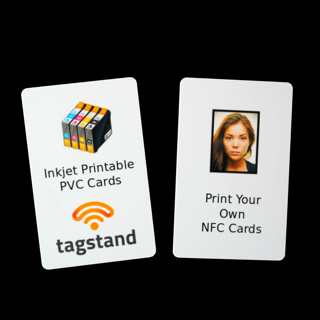 Inkjet Printable PVC Card - NTAG215