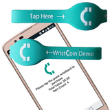 WristCoin Cashless NFC Payment Solution - Demo Wristband