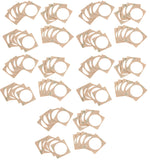 NTAG213 PET sticker pack - 30mm round - 100 count