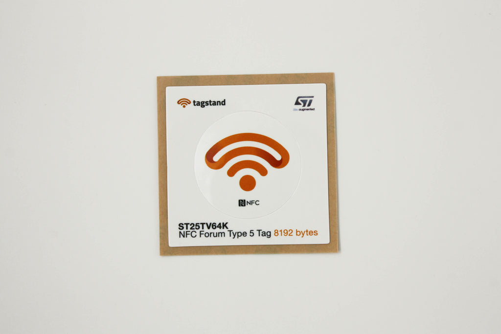 ST by Tagstand - Type 5, 30mm dia. PET sticker