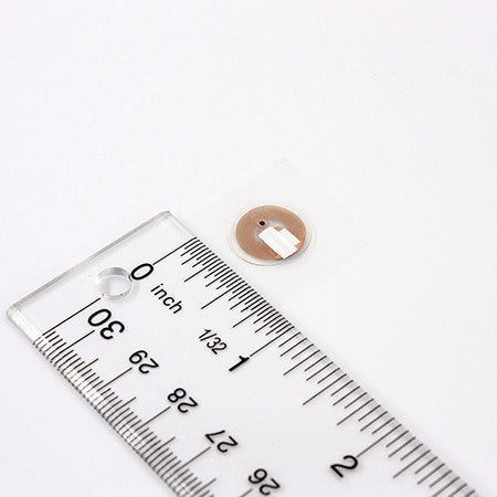 Contact lens-sized NFC tag - NTAG213
