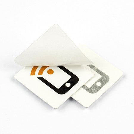 NFC Windshield Sticker - NTAG213 Type 2 with Tagstand Logo