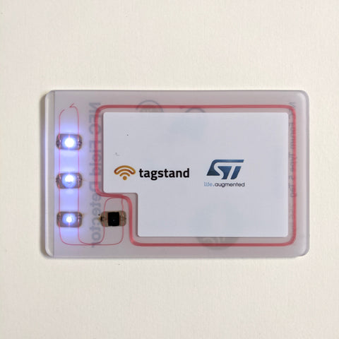 NFC Field Detector Card with ST25TV02K Chip