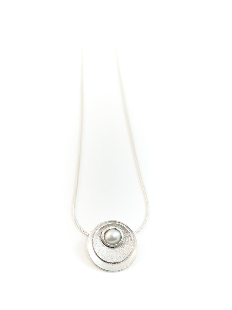 Pearl necklace handmade in Tofino BC. Shop Jewellery online or in our store.