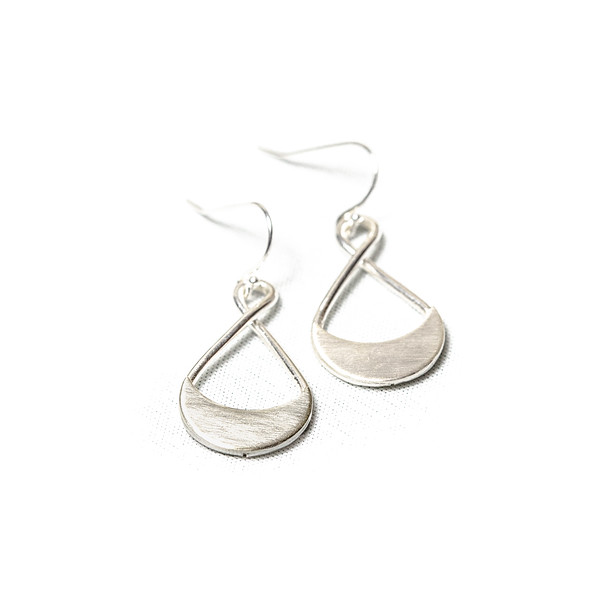 Orcus Earrings in Sterling Silver
