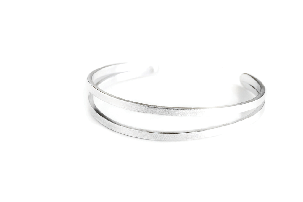2 wire cuff handmade jewelry in Tofino BC. Shop now online or in our studio store The Factory