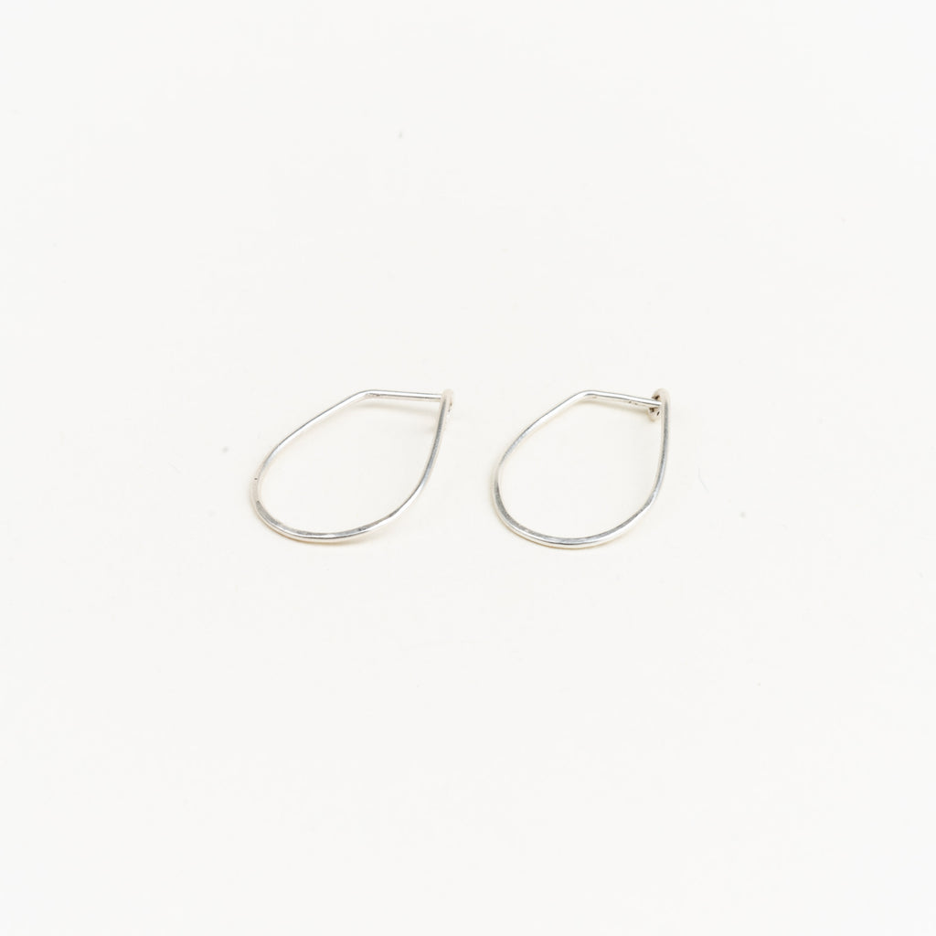 Tear Half Hammered Hoops