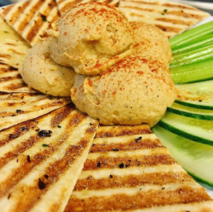 Spicy Garlic Hummus
