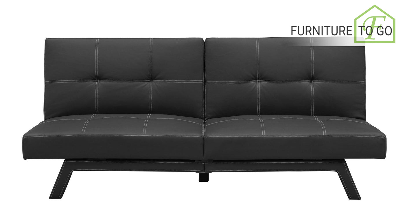 Outstanding Clearance Furniture In Dallas 125 00 Black Leather Delaney Sofa Bed Futon Inzonedesignstudio Interior Chair Design Inzonedesignstudiocom