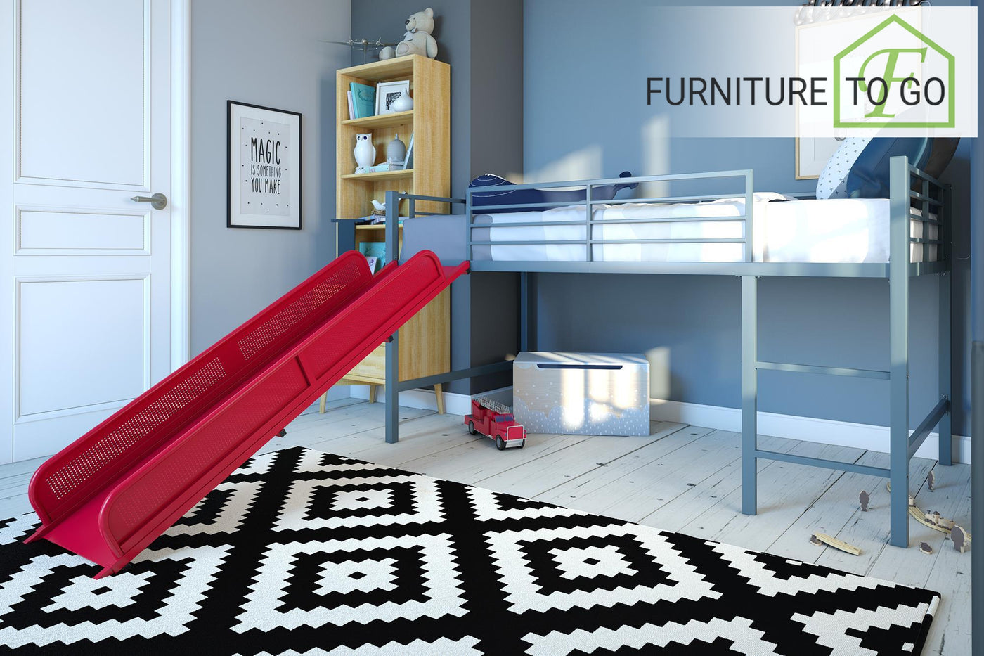 Clearance Furniture In Dallas 125 00 Silver Twin Junior Loft Bed