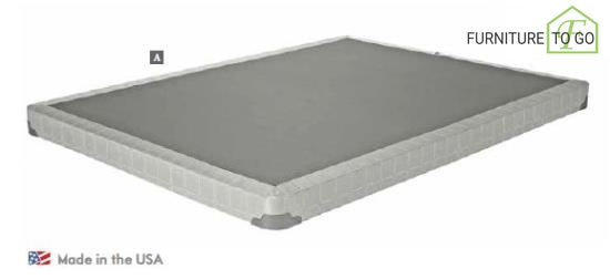 "Dallas Furniture Store - Bedroom 350045KW 5"" C KING SIZE FOUNDATION BED FRAMES"