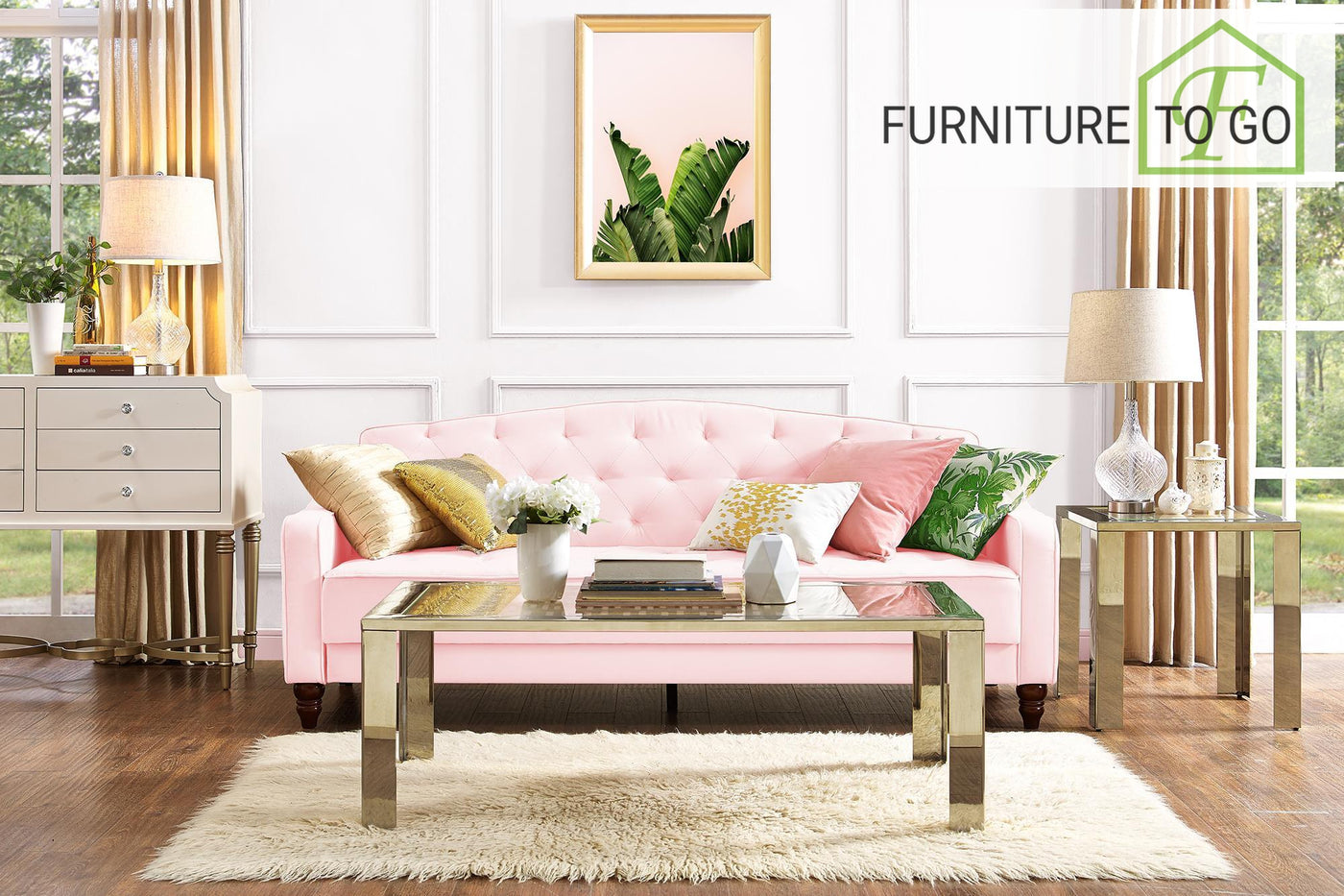 Astonishing Clearance Furniture In Dallas 249 99 Pink Velour Vintage Style Sofa Bed Futon Andrewgaddart Wooden Chair Designs For Living Room Andrewgaddartcom