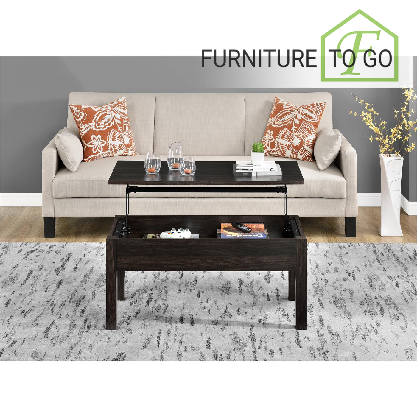 Surprising Clearance Furniture In Dallas 60 00 Espresso Convertible Coffee Table Pabps2019 Chair Design Images Pabps2019Com