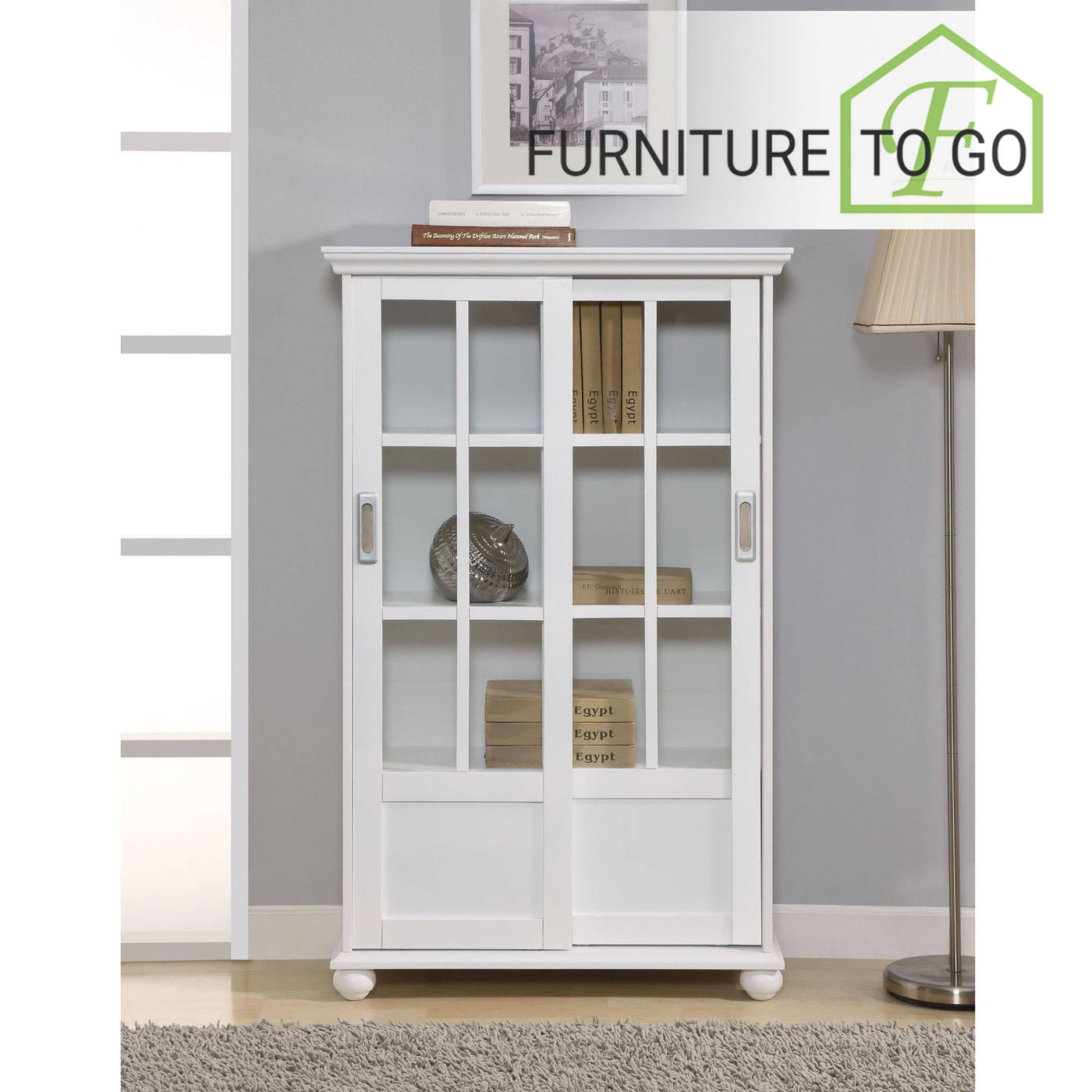 Clearance Furniture In Dallas 9999 White Aaron Bookcase With