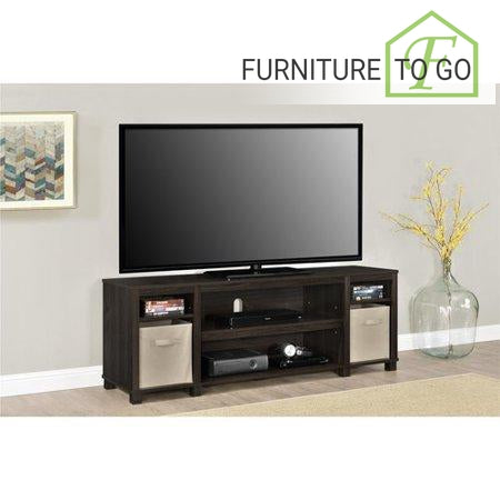 Clearance Furniture In Dallas 74 00 Espresso Tv Stand With Bins For