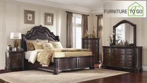 Dallas Furniture Store - Bedroom 202260KW-S5 CA KING 5PC SET (KW.BED,NS,DR,MR,CH) SETS