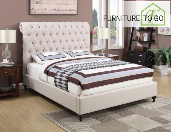 Dallas Furniture Store - Bedroom 300525KE EASTERN KING BED UPHOLSTERED BEDS
