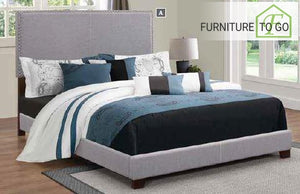 Dallas Furniture Store - Bedroom 350071Q QUEEN BED UPHOLSTERED BEDS