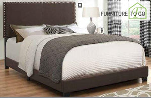 Dallas Furniture Store - Bedroom 350081F FULL BED UPHOLSTERED BEDS