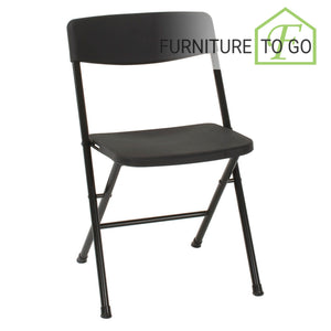 CLEARANCE FURNITURE IN DALLAS 10.00 Black Resin Folding Chair