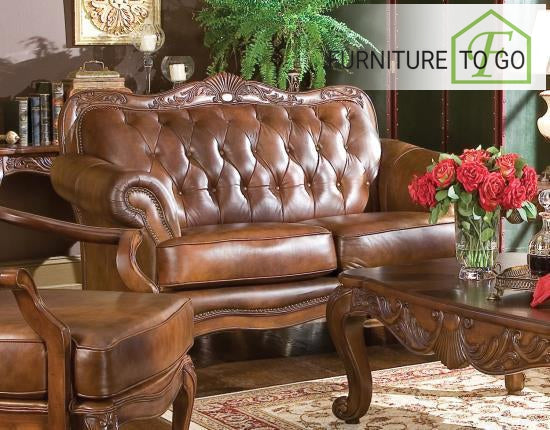 Dallas Furniture Store - Living Room 500682 LOVESEAT