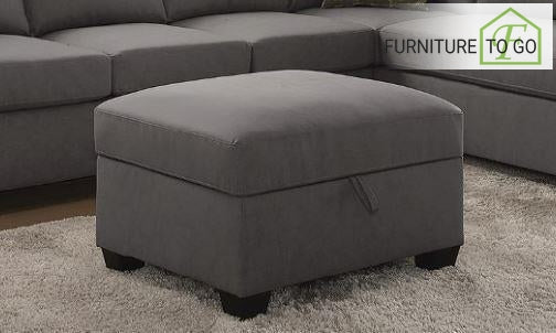 Dallas Furniture Store - Living Room 501688 STORAGE OTTOMAN