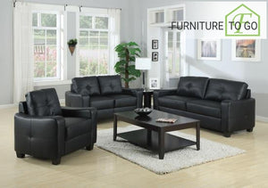 Dallas Furniture Store - Living Room 502721 S3 3PC (SOFA + LOVE+CHAIR)