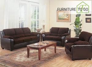 Dallas Furniture Store - Living Room 502811 S3 3PC (SOFA + LOVE+ CHAIR)