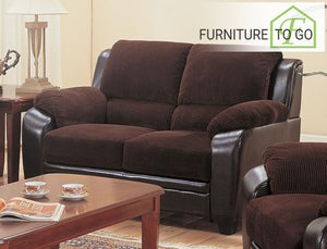 Dallas Furniture Store - Living Room 502812 LOVESEAT