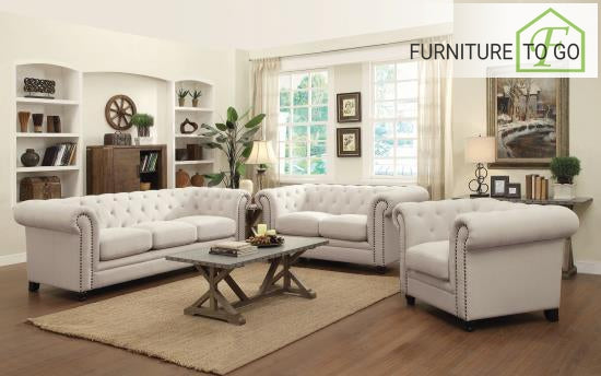 Dallas Furniture Store - Living Room 504554 S3 3PC (SOFA + LOVE+CHAIR)