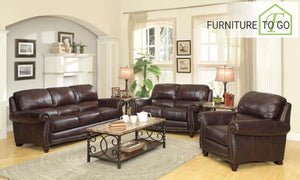 Dallas Furniture Store - Living Room 504691 S3 3PC (SOFA + LOVE+ CHAIR)