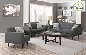 Dallas Furniture Store - Living Room 505201 S3 3PC (SOFA + LOVE+ CHAIR)
