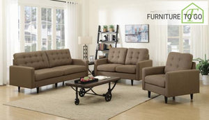Dallas Furniture Store - Living Room 505377 S3 3PC (SOFA + LOVE+ CHAIR)