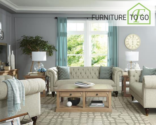 Dallas Furniture Store - Living Room 505551 S2 2 PC SET