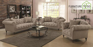 Dallas Furniture Store - Living Room 505571 S2 2 PC SET