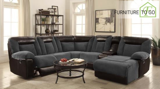 Dallas Furniture Store - Living Room 600090 6PC SECTIONAL
