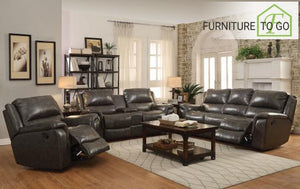 Dallas Furniture Store - Living Room 601821 S3 3PC (SOFA + LOVE+ RECLINER)