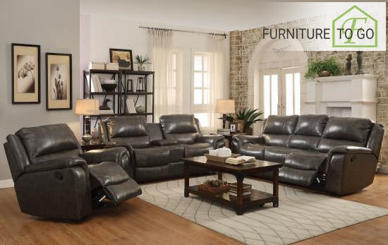 Dallas Furniture Store - Living Room 601821P S3 3PC (SOFA + LOVE+ RECLINER)