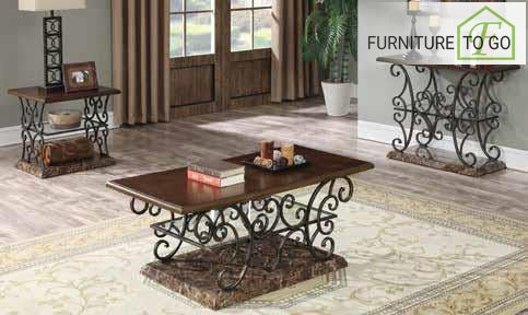 Dallas Furniture Store - Living Room 705118 COFFEE TABLE