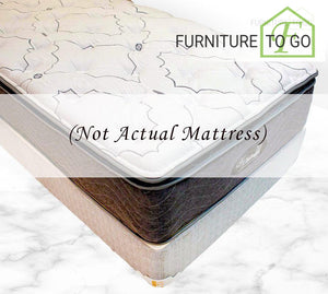 Dallas Furniture - Mattress CH-2 COOLTEX HYBRID EUROTOP - 10 YR