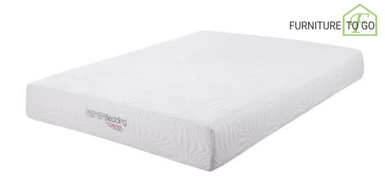 "Dallas Furniture Store - Bedroom 350064KE 10"" KE MEMORY FOAM MATTRESS MATTRESS & PILLOWS"