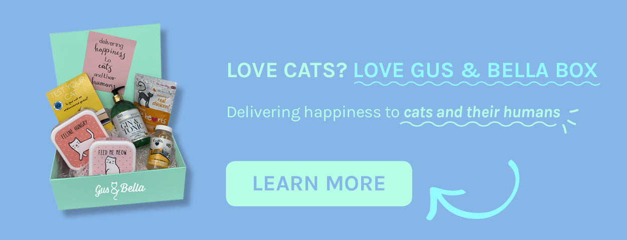 Join Gus and Bella Cat box subscription here